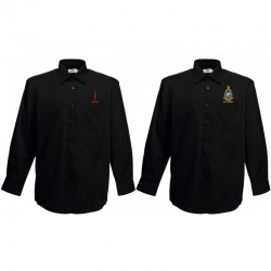 BLACK CASUAL RMA-RIDERS SHIRT