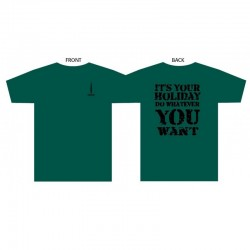 IT'S YOUR HOLIDAY T-SHIRT MKII
