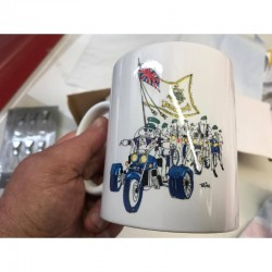 "RMA-RIDERS MUG WITH ""TRIM""..."